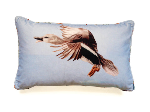 Drake. Cotton Velvet Cushion.