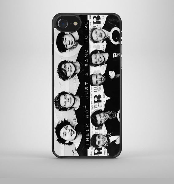 1D 5sos not just a band iPhone 7 Case Avallen