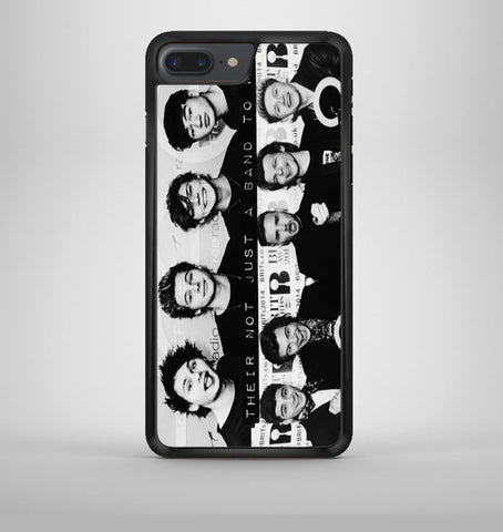 1D 5sos not just a band iPhone 7 Plus Case Avallen