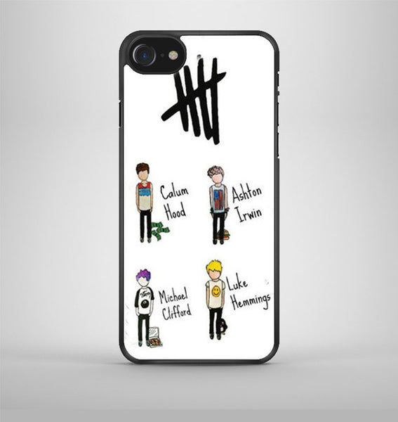 5Sos 5 Seconds Of Summer Band iPhone 7 Case Avallen