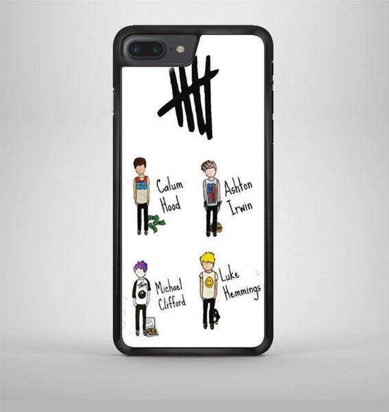 5Sos 5 Seconds Of Summer Band iPhone 7 Plus Case Avallen