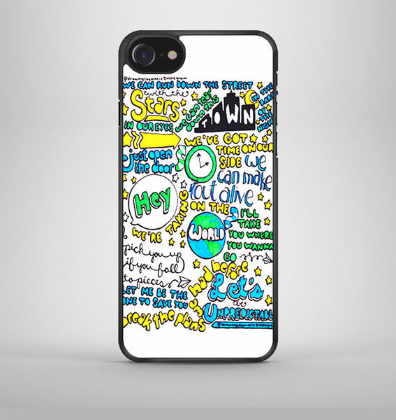5Sos Unpredictable Lyric Cover iPhone 7 Case Avallen