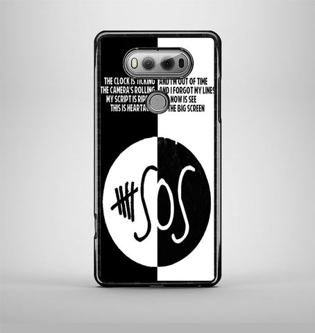 5 Second Of Summer Lyrics LG V20 Case AV