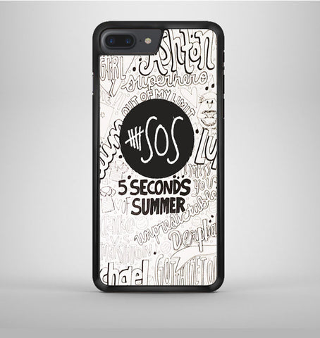 5 Second Of Summer Collage iPhone 7 Plus Case Avallen