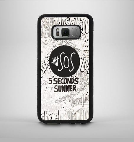5 Second Of Summer Collage Samsung Galaxy S8 Plus Case AV