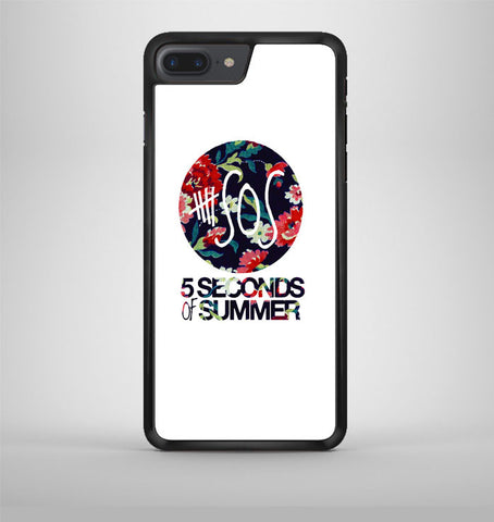 5 Second of Summer Floral iPhone 7 Plus Case Avallen