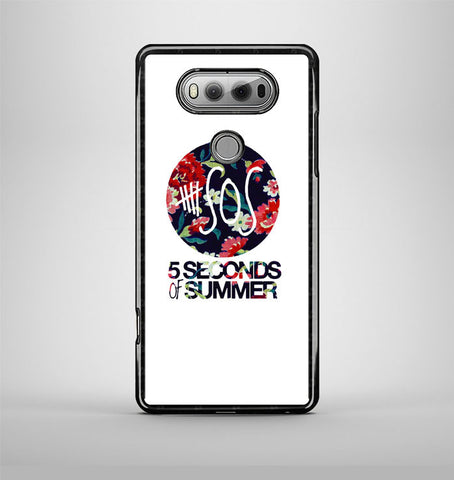 5 Second of Summer Floral LG V20 Case AV