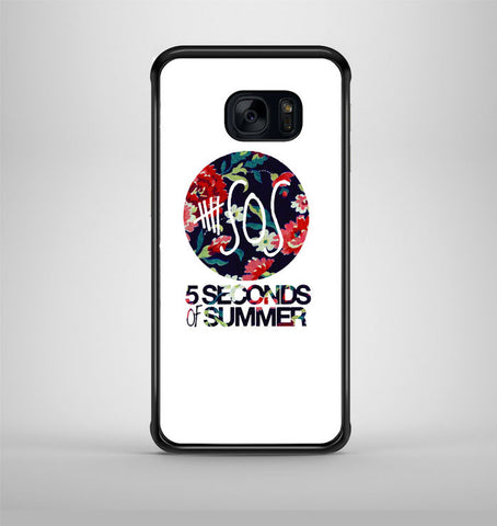 5 Second of Summer Floral Samsung Galaxy S7 Case AV