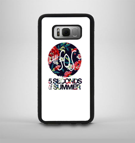 5 Second of Summer Floral Samsung Galaxy S8 Plus Case AV