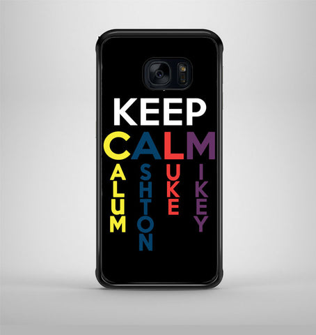 5 Second of Summer Keep Calm Samsung Galaxy S7 Case AV