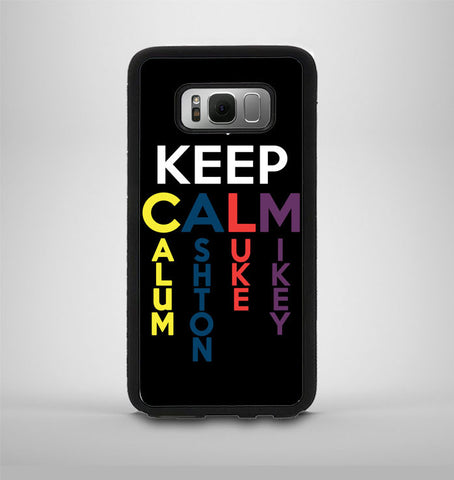 5 Second of Summer Keep Calm Samsung Galaxy S8 Plus Case AV