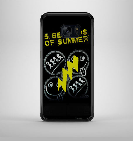 5 Seconds Of Summer 2 Samsung Galaxy S7 Case AV