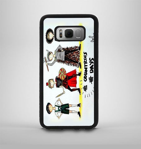 5 Second Of Summer 5 Countries 5 Day Samsung Galaxy S8 Plus Case AV
