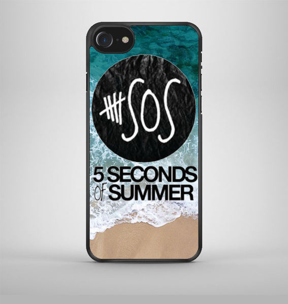 5 seconds of summer band the beach iPhone 7 Case Avallen