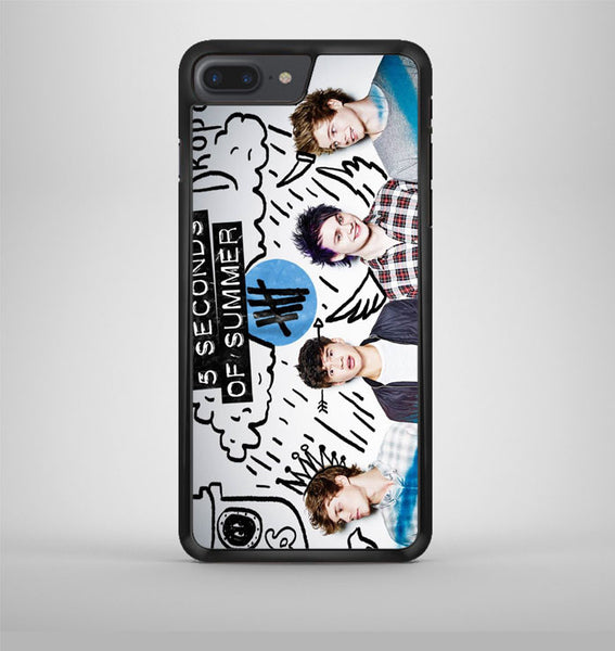 5 Seconds Of Summer Cover iPhone 7 Plus Case Avallen