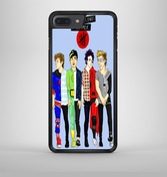 5 Seconds Of Summer Drawing iPhone 7 Plus Case Avallen