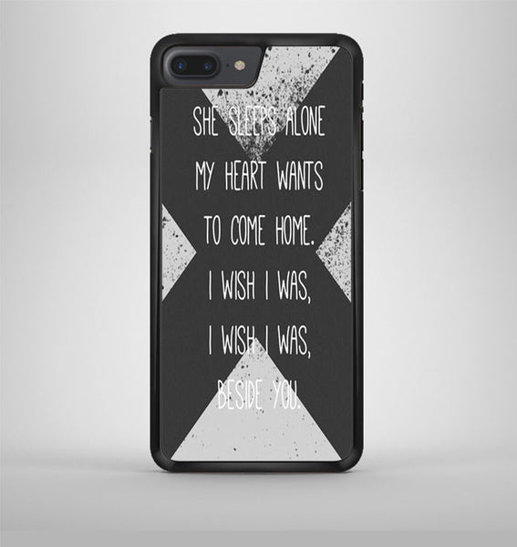 5 Sos Lyric Beside iPhone 7 Plus Case Avallen