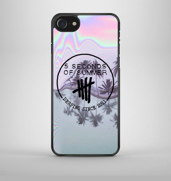 5sos derping iPhone 7 Case Avallen