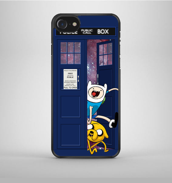 Jake Finn Dr Who Tardis Galaxy Nebula iPhone 7 Case Avallen