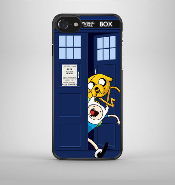 Jake Finn In Dr Who Tardis Call Box iPhone 7 Case Avallen