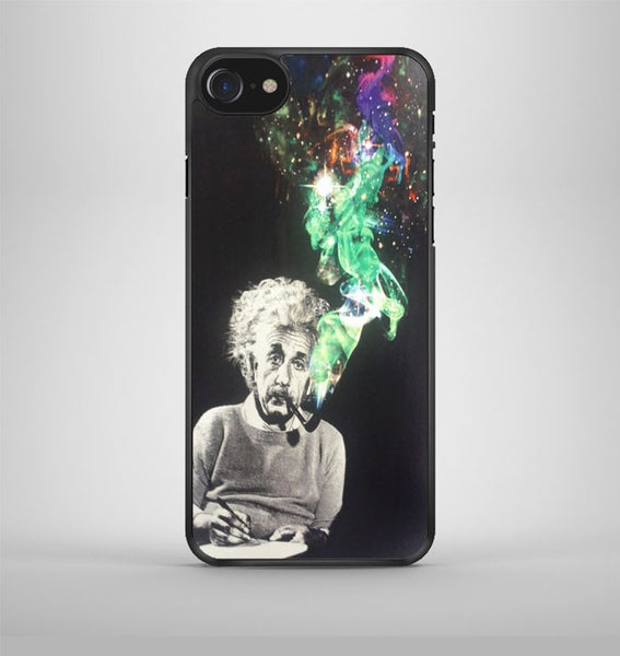 Albert Einstein Smoking iPhone 7 Case Avallen