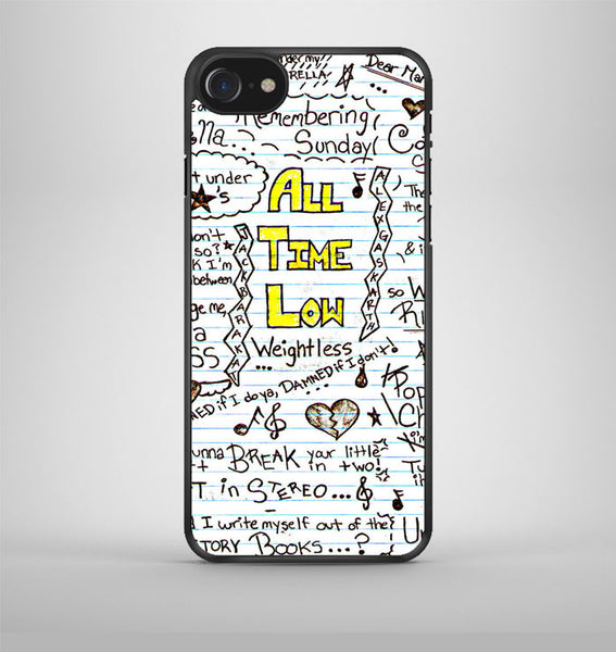 All Time Low Collage iPhone 7 Case Avallen