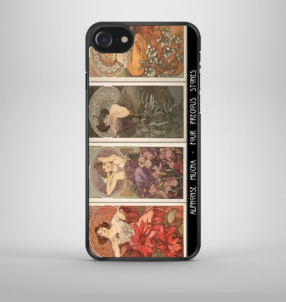 Alphonse Mucha Feminine College iPhone 7 Case Avallen