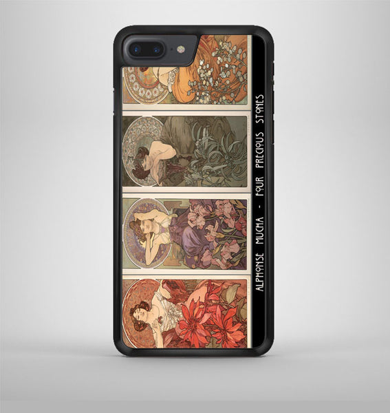 Alphonse Mucha Feminine College iPhone 7 Plus Case Avallen