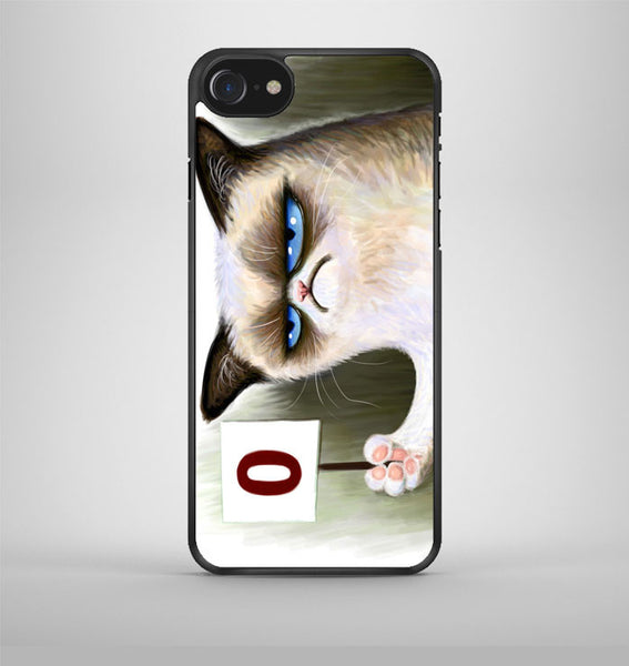 Angry Grumpy Cat iPhone 7 Case Avallen