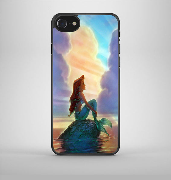 Ariel the Little Mermaid Stained Glass iPhone 7 Case Avallen