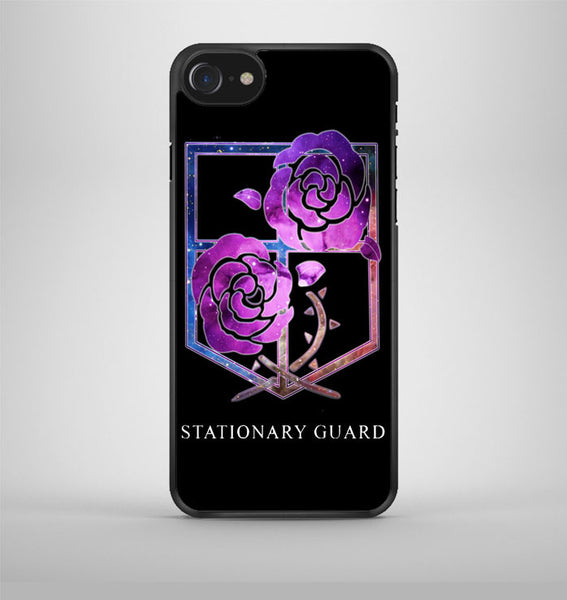 Attack on Titan Stationary Guard iPhone 7 Case Avallen