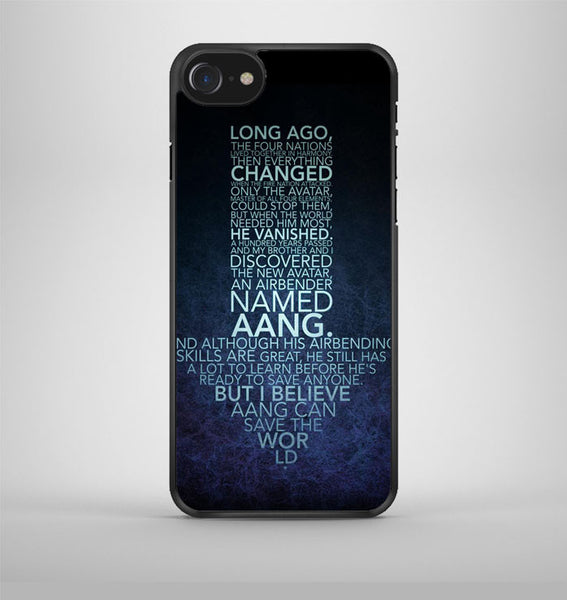 Avatar Arrow Quotes iPhone 7 Case Avallen
