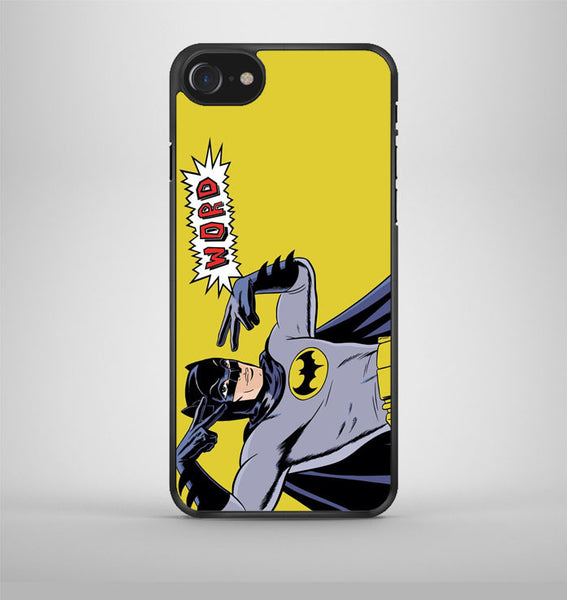 Batman Word Pop Art iPhone 7 Case Avallen