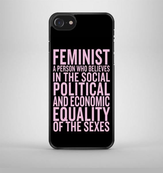 Beyonce Feminism Quotes Girl's iPhone 7 Case Avallen
