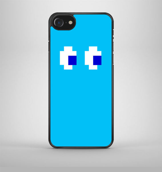 Blue Pacman inspired iPhone 7 Case Avallen