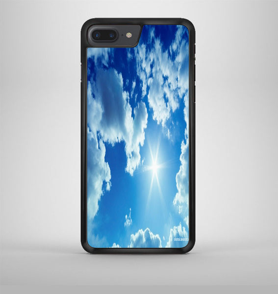Blue Sky Summer Spring iPhone 7 Plus Case Avallen