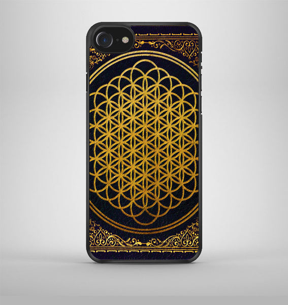 Bring Me The Horizon cover album gold iPhone 7 Case Avallen