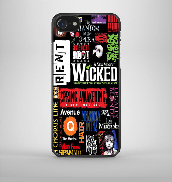 Broadway Musical Collage Art iPhone 7 Case Avallen