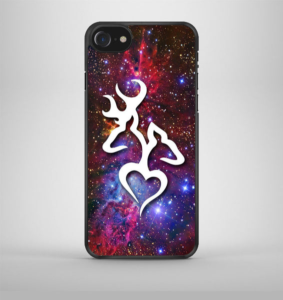 Browning Deer Love Galaxy Nebula iPhone 7 Case Avallen