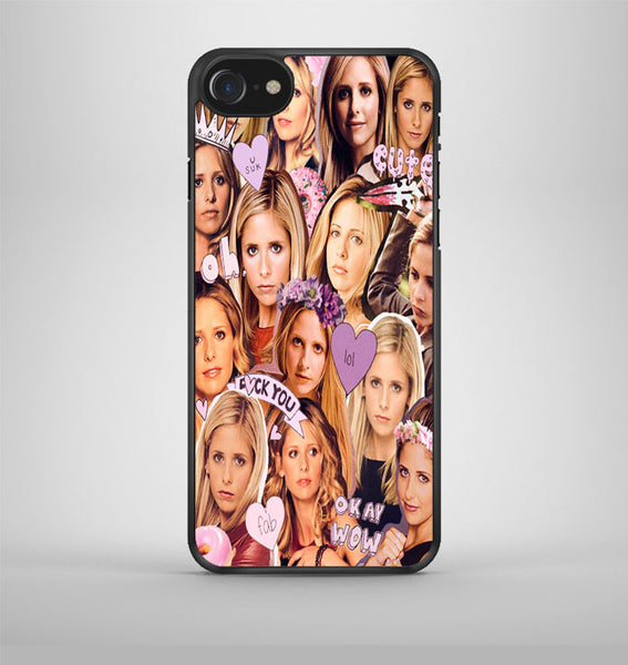 Buffy Collage iPhone 7 Case Avallen