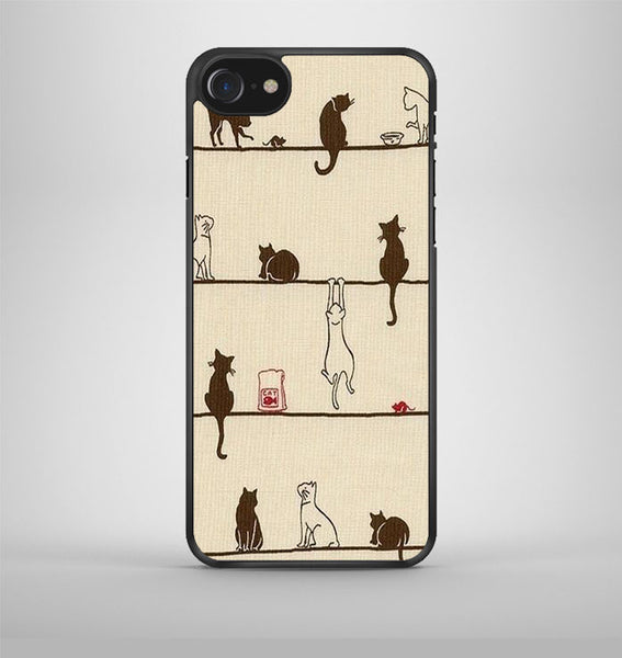 Cats are Cute iPhone 7 Case Avallen