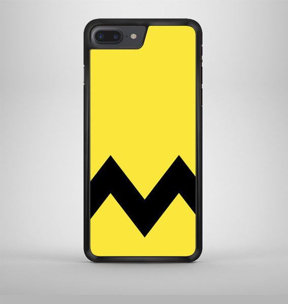 Charlie Brown Yellow Black Chevron iPhone 7 Plus Case Avallen