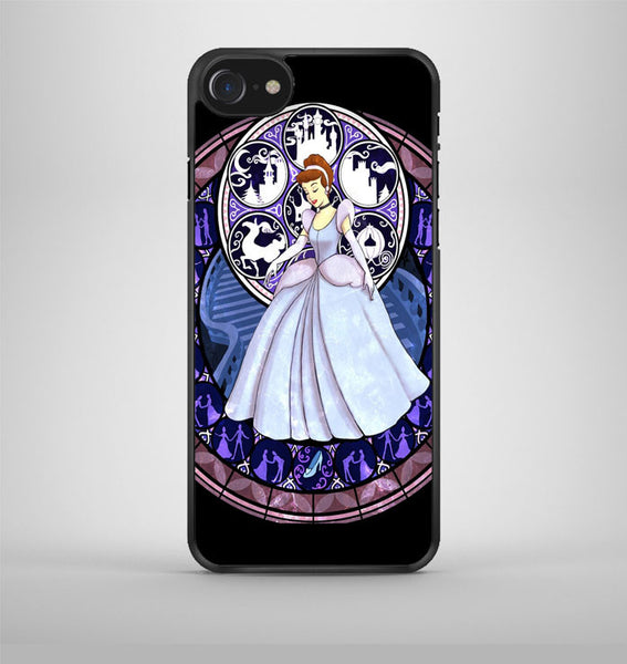 Cinderella Stained Glass iPhone 7 Case Avallen