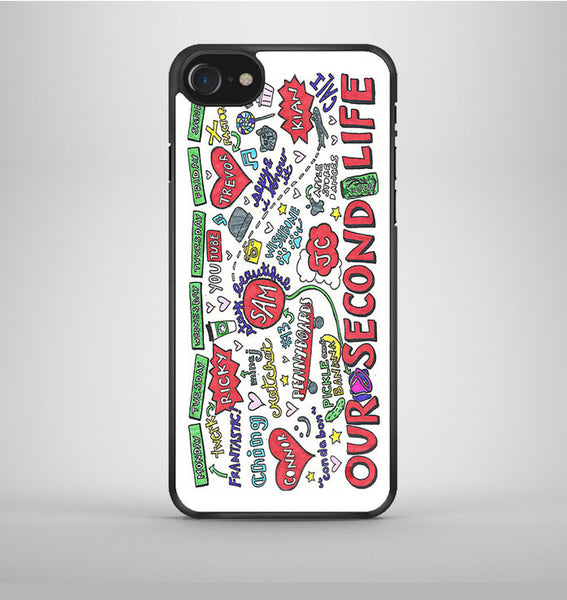 Collage O2L iPhone 7 Case Avallen