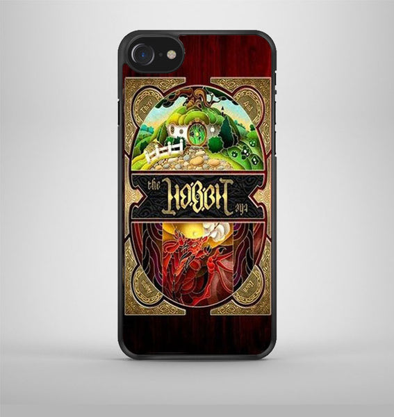 Lord Of The Rings The Hobbit Logo Typograph iPhone 7 Case Avallen