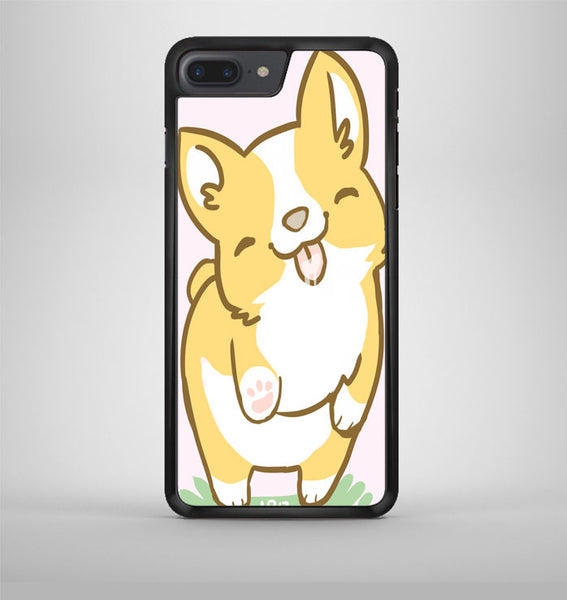 Corgi Valentine iPhone 7 Plus Case Avallen