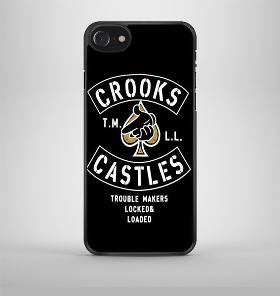 Crooks Castles Air Gun Spades iPhone 7 Case Avallen