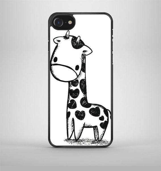 Cute giraffe iPhone 7 Case Avallen
