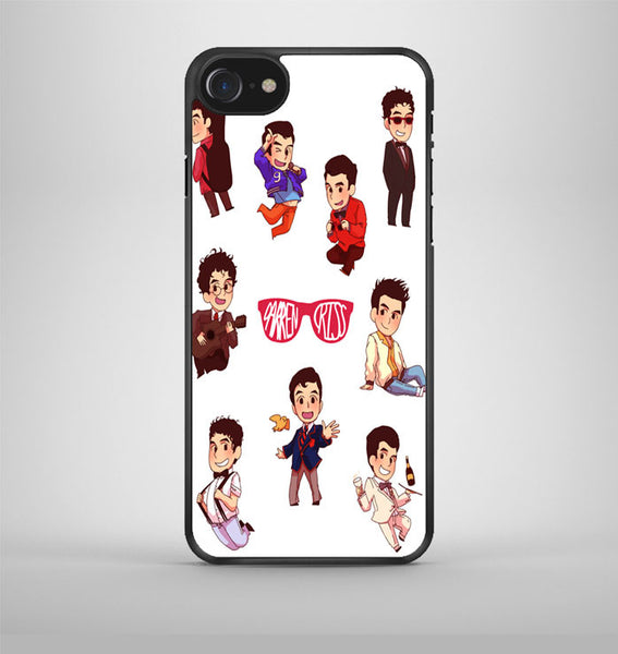 Darren Criss Topman Collage 3 iPhone 7 Case Avallen