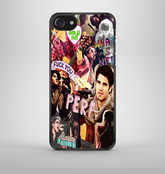 Darren Criss Topman Collage 4 iPhone 7 Case Avallen